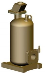 air operated submersible sump pump