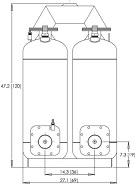 dual submersible pumps